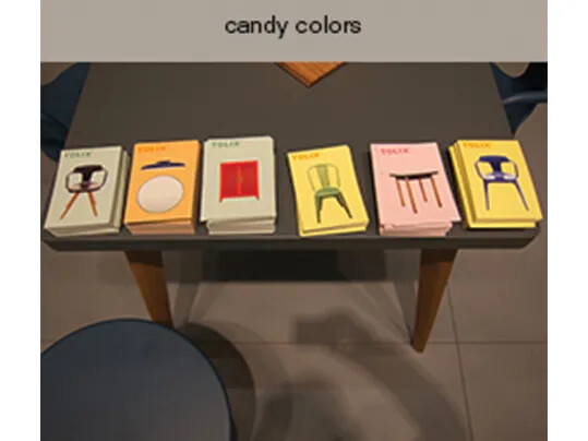 Candy colors - Maison